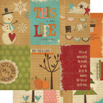 Simple Stories - Year-o-graphy Collection - 12 x 12 Double Sided Paper - Vertical Journaling Card Elements
