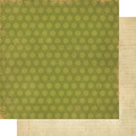 Simple Stories - Year-o-graphy Collection - 12 x 12 Double Sided Paper - Green