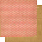 Simple Stories - Year-o-graphy Collection - 12 x 12 Double Sided Paper - Pink