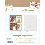 Simple Stories - SNAP Studio Collection - 3 x 4 and 4 x 6 Divided Page Protectors - 10 Pack
