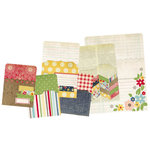 Simple Stories - Odds and Ends Collection - Memorabilia Pockets - Summer Fresh