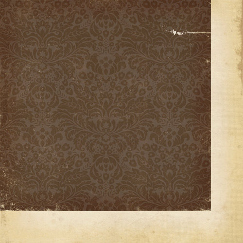 Simple Stories - Fab-U-lous Collection - 12 x 12 Double Sided Paper - Damask