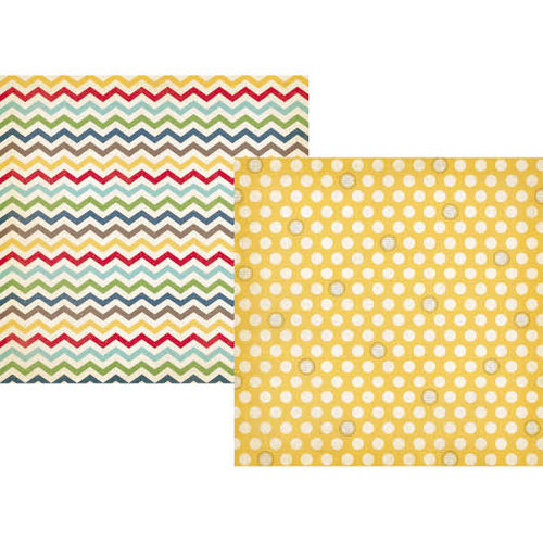Simple Stories - Summer Fresh Collection - 12 x 12 Double Sided Paper - Sunshine and Happiness