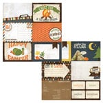Simple Stories - Take a Hike Collection - 12 x 12 Double Sided Paper - Journaling Card Elements 1
