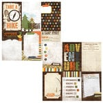 Simple Stories - Take a Hike Collection - 12 x 12 Double Sided Paper - Vertical Journaling Card Elements