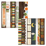 Simple Stories - Take a Hike Collection - 12 x 12 Double Sided Paper - Border and Title Strip Elements