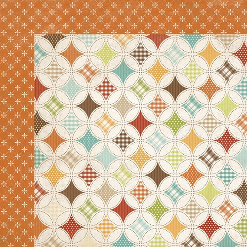 Simple Stories - Harvest Lane Collection - 12 x 12 Double Sided Paper - Homemade Happiness