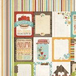 Simple Stories - Harvest Lane Collection - 12 x 12 Double Sided Paper - Flash Cards