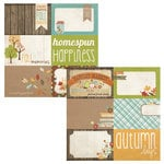 Simple Stories - Harvest Lane Collection - 12 x 12 Double Sided Paper - Journaling Card Elements 2