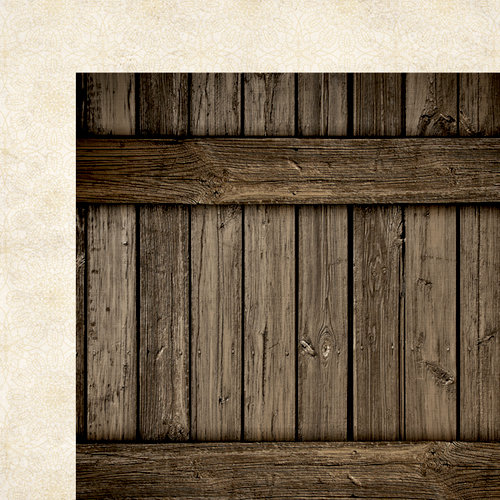 Simple Stories - Harvest Lane Collection - 12 x 12 Double Sided Paper - Wood