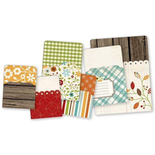 Simple Stories - SNAP Collection - Memorabilia Pockets - Harvest Lane