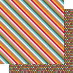 Simple Stories - SNAP Life Collection - 12 x 12 Double Sided Paper - SNAP Stripe