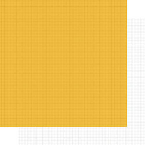 Simple Stories - SNAP Life Collection - 12 x 12 Double Sided Paper - Yellow