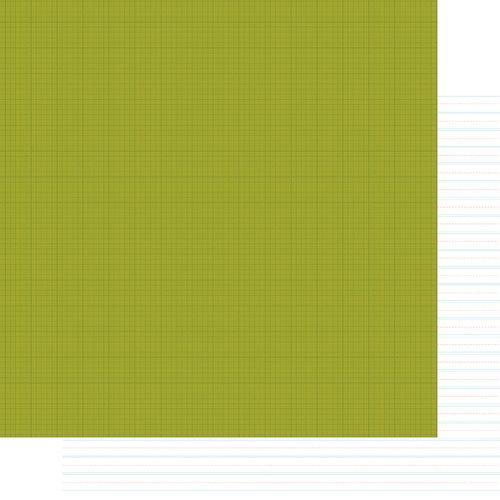 Simple Stories - SNAP Life Collection - 12 x 12 Double Sided Paper - Green