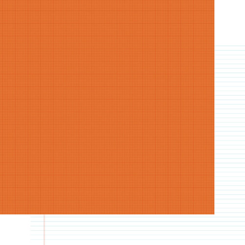 Simple Stories - SNAP Life Collection - 12 x 12 Double Sided Paper - Orange