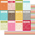 Simple Stories - SNAP Life Collection - 12 x 12 Double Sided Paper - Bingo Cards