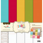 Simple Stories - SNAP Life Collection - 12 x 12 Basics Kit