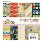 Simple Stories - Urban Traveler Collection - 6 x 6 Paper Pad