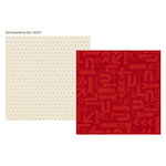Simple Stories - Urban Traveler Collection - 12 x 12 Double Sided Paper - Red Arrows
