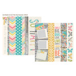Simple Stories - Vintage Bliss Collection - 12 x 12 Double Sided Paper - Border and Title Elements
