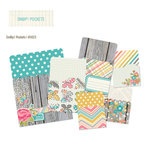 Simple Stories - SNAP Collection - Memorabilia Pockets - Vintage Bliss