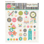 Simple Stories - Vintage Bliss Collection - Decorative Metal Brads