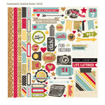 Simple Stories - 24 Seven Collection - 12 x 12 Cardstock Stickers - Fundamentals