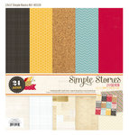Simple Stories - 24 Seven Collection - 12 x 12 Simple Basics Kit