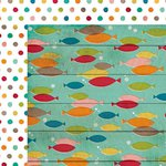 Simple Stories - I Heart Summer Collection - 12 x 12 Double Sided Paper - Smooth Sailing