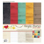 Simple Stories - I Heart Summer Collection - 12 x 12 Simple Basics Kit