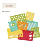 Simple Stories - SNAP Collection - SNAP Cuts - 4 x 6 Die Cut Cards