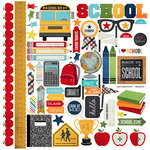 Simple Stories - Smarty Pants Collection - 12 x 12 Cardstock Stickers - Fundamentals