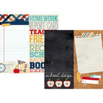 Simple Stories - Smarty Pants Collection - 12 x 12 Double Sided Paper - Page Elements