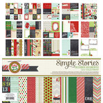 Simple Stories - December Documented Collection - Christmas - 12 x 12 Collection Kit