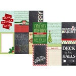 Simple Stories - December Documented Collection - Christmas - 12 x 12 Double Sided Paper - 4 x 6 Vertical Journaling Card Elements