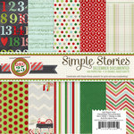 Simple Stories - December Documented Collection - Christmas - 6 x 6 Paper pad