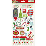 Simple Stories - December Documented Collection - Christmas - Chipboard Stickers