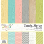 Simple Stories - Hello Baby Collection - 12 x 12 Simple Basics Kit