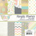 Simple Stories - Hello Baby Collection - 6 x 6 Paper Pad