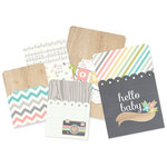 Simple Stories - SNAP Collection - Memorabilia Pockets - Hello Baby