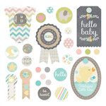Simple Stories - Hello Baby Collection - Decorative Brads