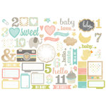 Simple Stories - Hello Baby Collection - Bits and Pieces