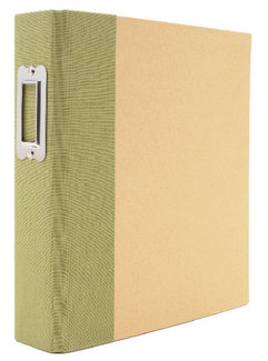 Simple Stories - SNAP Studio Collection - Binder - Green