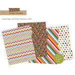 Simple Stories - SNAP Studio Collection - Chipboard Album Dividers - Patterned