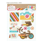Simple Stories - SNAP Studio Collection - Layered Stickers