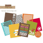 Simple Stories - SNAP Studio Collection - 6 x 8 Journal Insert Pages - Die Cut