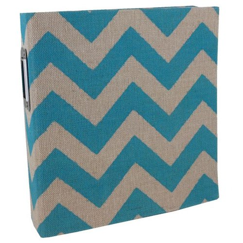 Simple Stories - SNAP Studio Collection - Burlap Binder - Teal
