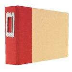 Simple Stories - SNAP Studio Collection - 4 x 6 Horizontal Binder - Red
