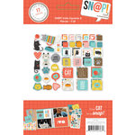 Simple Stories - SNAP Collection - Insta Squares and Pieces - Cat