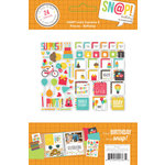 Simple Stories - SNAP Collection - Insta Squares and Pieces - Birthday